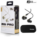 Brand new MEE M6PRO Top Quality Earphones Hifi Noise Cancelling Bass Earphones PK SE215 IE800 Syllable earphones With Retail Box