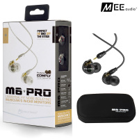Brand New MEE M6PRO Top Quality Earphones Hifi Noise Cancelling Bass Earphones PK SE215 IE800 Syllable