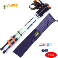 POINT BREAK Pioneer two pieces [Portland 10] - Brave Heart External Locking Alpenstock Ultra Light Carbon Rod
