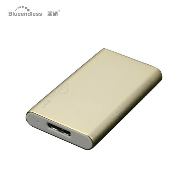 Msata 2.5 gabinete terno para 7.5/9mm carcasa hdd 2.5 sata usb 3.0 gabinete de disco rígido usb blueendless universal de alumínio
