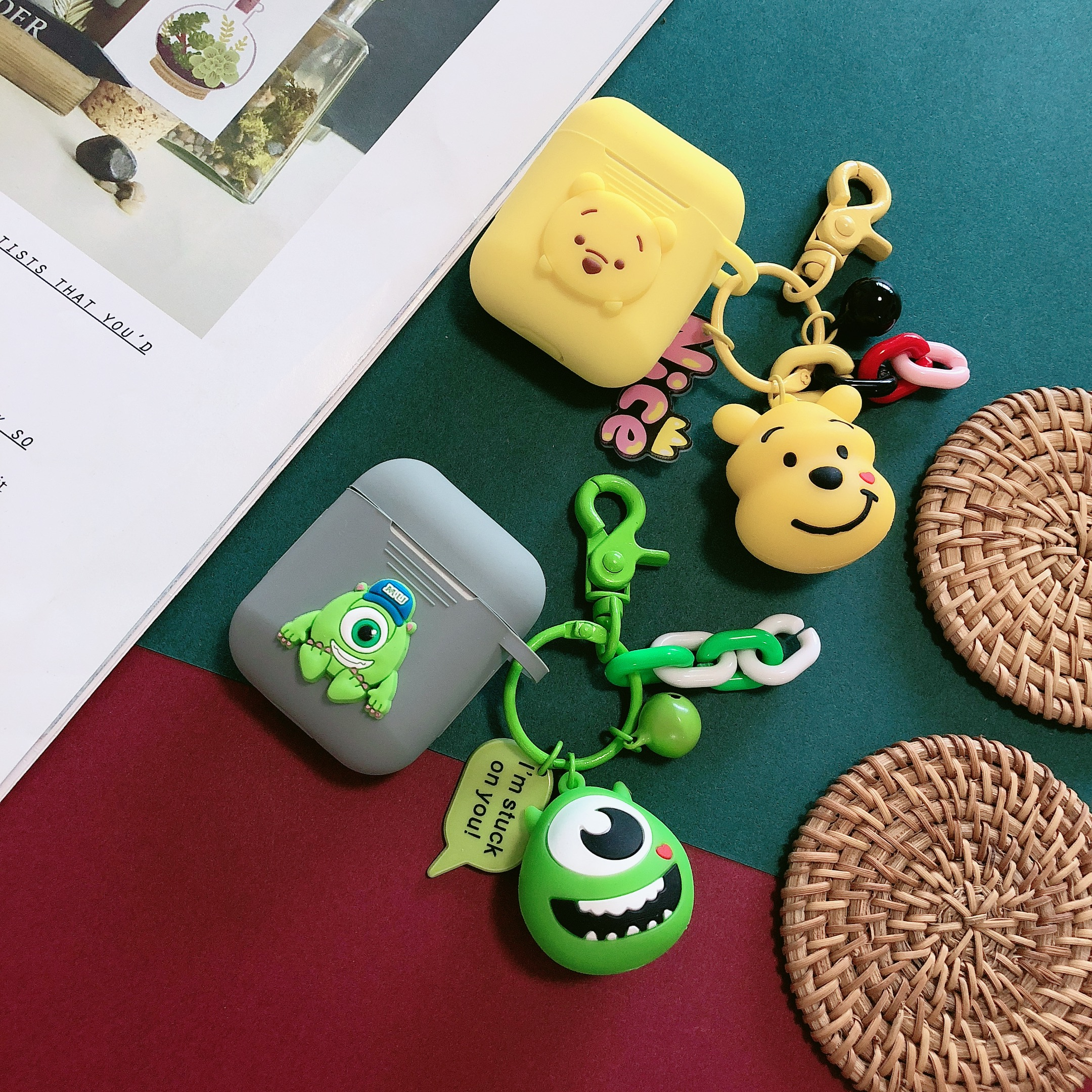 Cartoon Mike Wazowski Silicone Cases