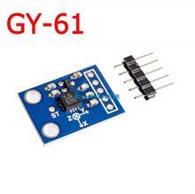 GY 61 ADXL335 Acelerometro 3 Axis Analog çıkışlı İvmeölçer modülü açısal dönüştürücü 3V 5V
