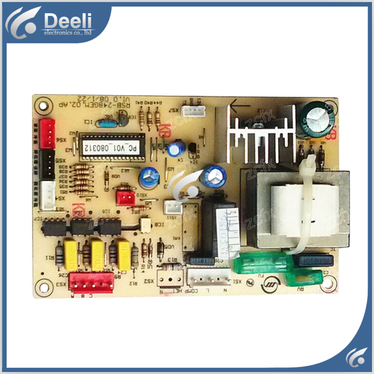 95% new Original good working refrigerator pc board motherboard for Midea bcd-248gem on sale 100% tested for washing machines board xqsb50 0528 xqsb52 528 xqsb55 0528 0034000808d motherboard on sale