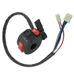 Image 5 - 22mm Left Handlebar Kill Control Choke SwitchKill Light Starter Choke Switch Assembly for 50cc 70cc 90cc 110cc 125cc ATV Quad