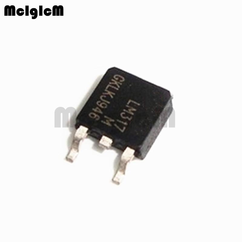 Discount 10pcs Lm317m Lm317 To252 Sot Lm317mdt Smd Voltage