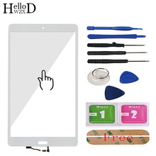 Touch Glass For HuaWei M3 BTV-DL09 BTV-W09 Touch Screen Glass Digitizer Panel Front Glass Lens Sensor Tools Free Adhesive(China)