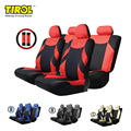 Tirol t20648b venta caliente tejido de poliéster 13 unids/set universal car seat covers protector cabido la mayoría de coches w/cubierta de la rueda styling