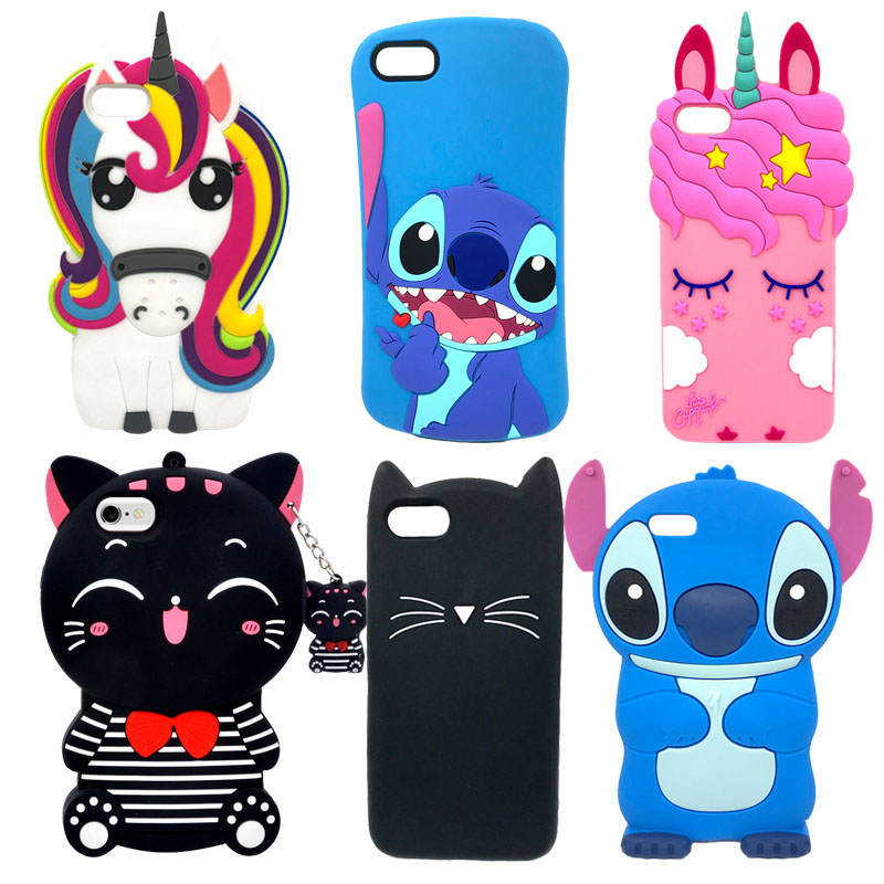 nuovo arrivo 0824f a8005 US $3.57 |Silicone Case For Coque Huawei Y5 2018 Case 3D Cartoon Soft Back  Cover For Huawei Y 5 2018 Y5 Prime 2018 Phone Cases Capa Funda-in Fitted ...