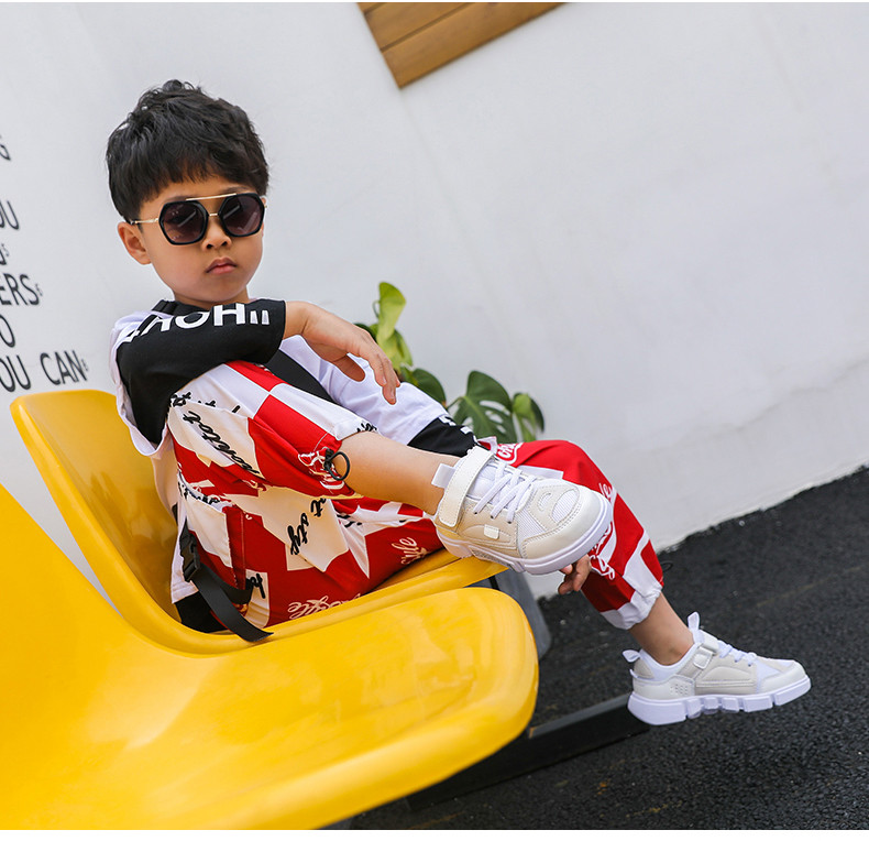 2019 Autumn New Girls Sneaker Kids Shoes Fashion Breathable Pink Leisure Sports Running Shoes For Boys Brand Casual Children Shoes (16)