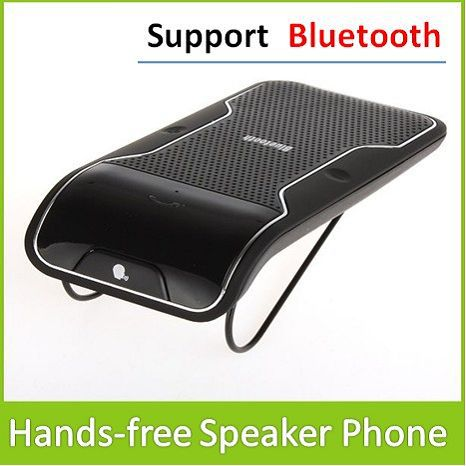 product Hands Free SpeakerPhone Bluetooth Car Kit Can Working With Any Blue tooth Enabled Devices Support Max 10M Wireless Distance