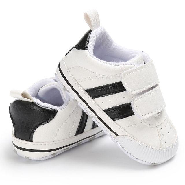 Младенческой малыша мягкая подошва крюк-петля Prewalker Спортивная обувь для маленьких мальчиков девочек Обувь для младенцев новорожденных до 18 месяцев