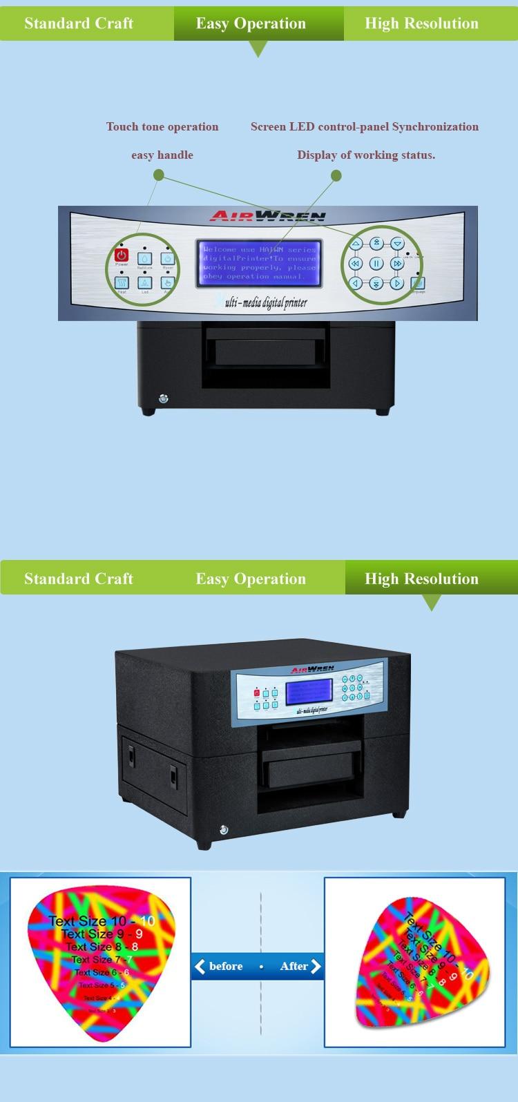 Kleinformat Kleidung Druckmaschine Digitalen Textil DTG Drucker Mit ...