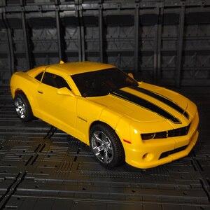 Image 5 - WJ Transformation MPM 03 MPM03 MPM 03 film dabeille jaune surdimensionné 28CM Version alliage Collection figurine Robot jouets cadeaux