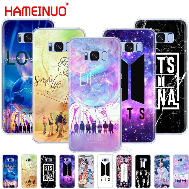 sports shoes 7dfc4 63140 US $1.93 34% OFF|HAMEINUO BTS Bangtan Boys DNA cell phone case cover for  Samsung Galaxy S9 S7 edge PLUS S8 S6 S5 S4 S3 MINI-in Half-wrapped Case  from ...