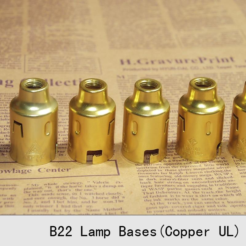 Bases da Lâmpada lâmpada b22 de qualidade superior Voltage/current : 250v/4a