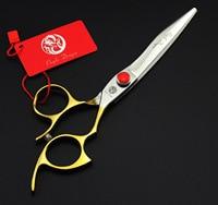 6.5inch Professional hair scissors hairdressing scissors made SUS440C