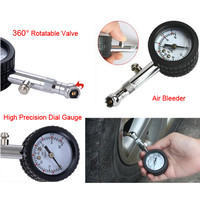 UNIT YD 6025 Accurate Auto Car Tire Pressure Gauge Meter Automobile Tyre Air Pressure Gauge Dial