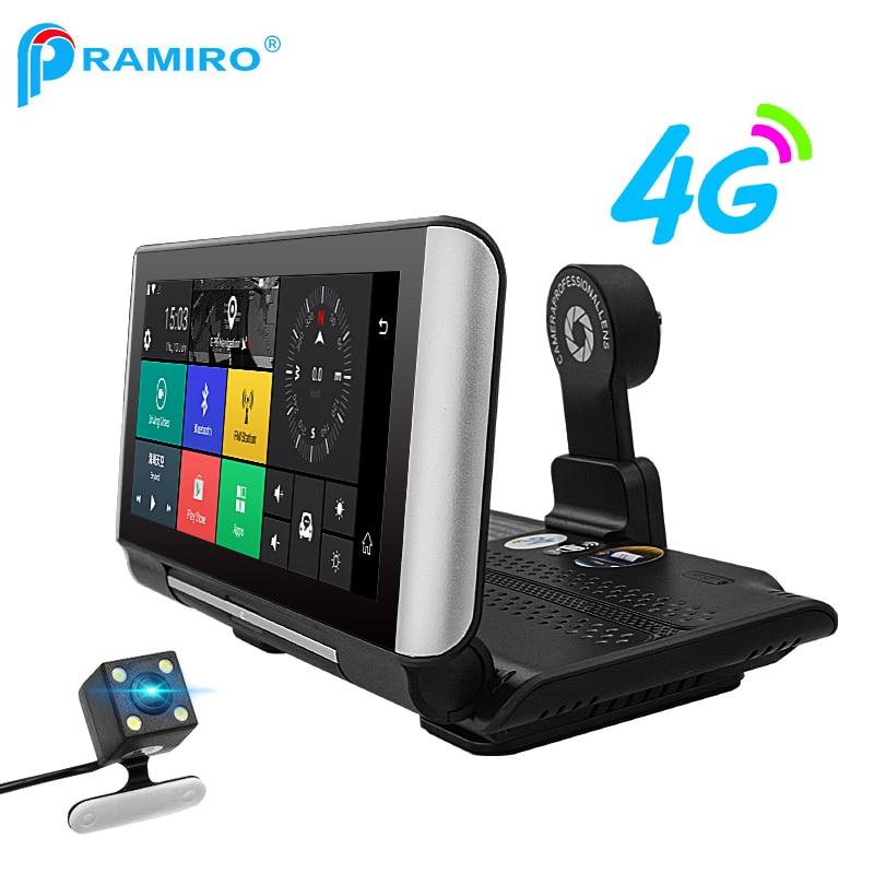 PRAMIRO 7inch 4G GPS navi and Car DVR 2
