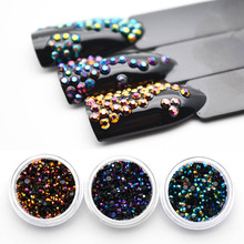 2mm Nails Rhinestones Crystal Rhinestones for Nail Design Strass Ongles Decoration Manicure 3D Nail Art Nagel Decoratie MJZ1081