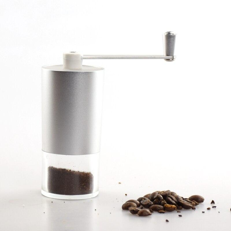 Мини-кофемолка Ecocoffee, портативная дорожная пищевая мельница, кофемолка, экологически чистый запасенный металл