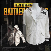 Game PUBG Playerunknown's Battlegrounds Cosplay Costumes Hooded Jacket Cloak Middle Ages Trench High Quality Chicken Dinner game pubg playerunknown s battlegrounds cosplay costumes yellow sport sets man woman clothing high quality chicken dinner