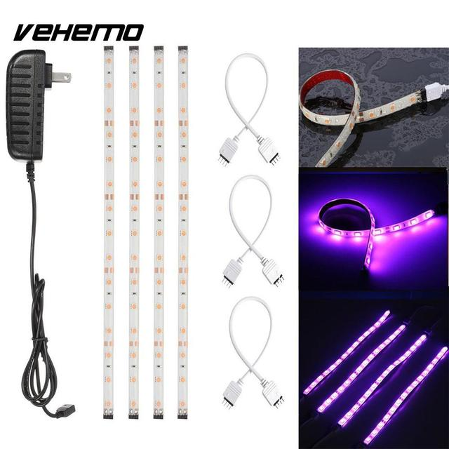 Us 9 4 10 Off Vehemo Waterproof Led Strip Light Bar Kitchen Cabinet Lighting Accessory Uk Plug In Decorative Lamp From Automobiles Motorcycles On