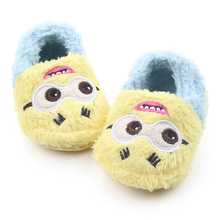 Plush Minions Slip-on for Infants