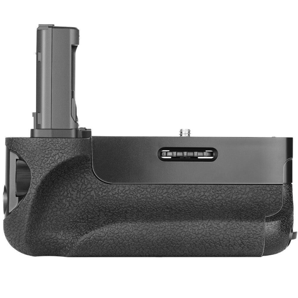 Neewer poignée de batterie verticale (remplacement pour VG-C1EM) pour Sony Alpha A7 A7R A7S DSLR appareils photo compatibles avec la batterie de NP-FW50