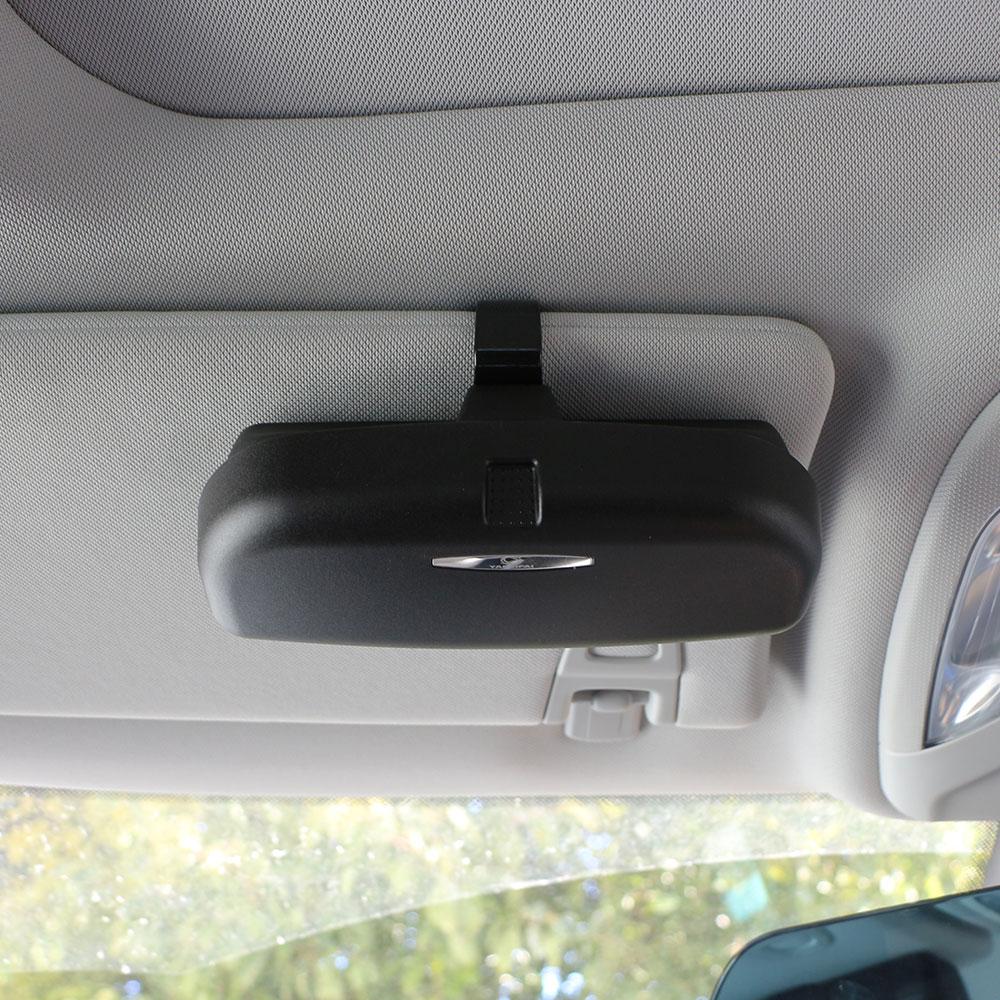 Car SUV Visor Glasses Case Organizer Box Sunglasses Holder Storage Pockets NEED