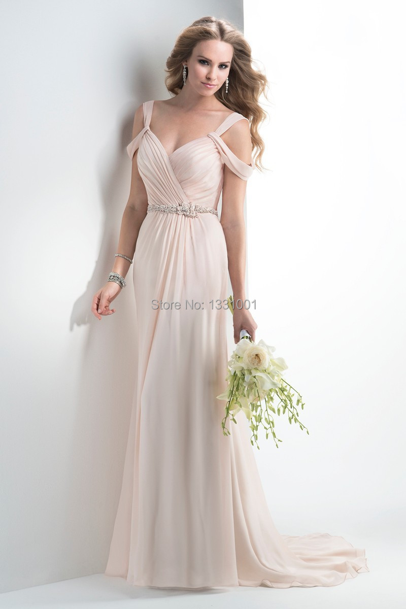 2016 Modern Style Sexy V Neck Beach Boho Wedding Dress