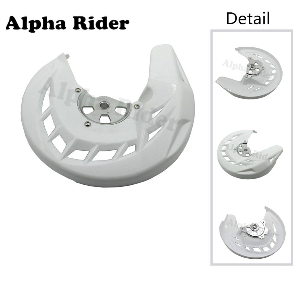 Front Brake Disc Rotors Cover Guard Protector for Kawasaki KLX250 KLX-250 KLX 250 2008 2009 2010 2011 2012 2013 2014 2015 2016 radiator protective cover grill guard grille protector for kawasaki z750 z1000 2007 2008 2009 2010 2011 2012 2013 2014 2015 2016