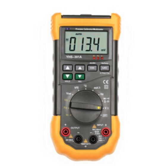 yhs 301a multifunction signal loop process calibrator meter with