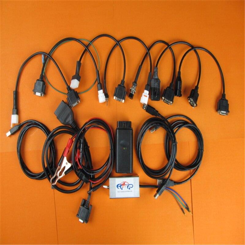Für Yamaha Motorrad Diagnosetool Für Honda, SYM KYMCO, für YAMAHA, SUZUKI, HTF, PGO serie marken 7in1 motorrad scanner tool