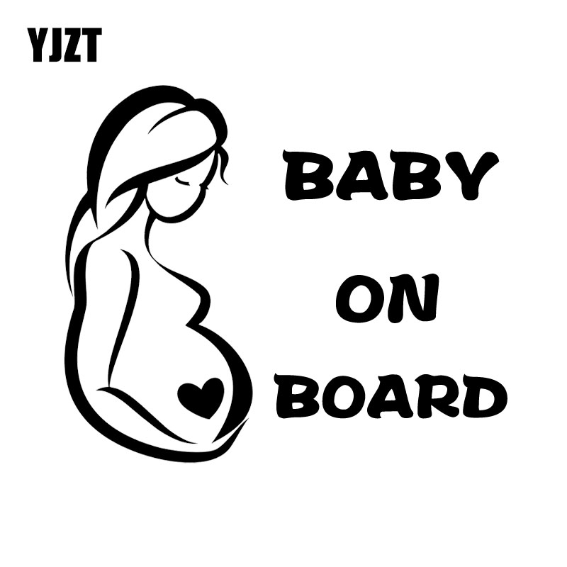 YJZT x см предупреждающая наклейка на машину для беременных женщин и малышей на борту индивидуальное украшение автомобильные аксессуары