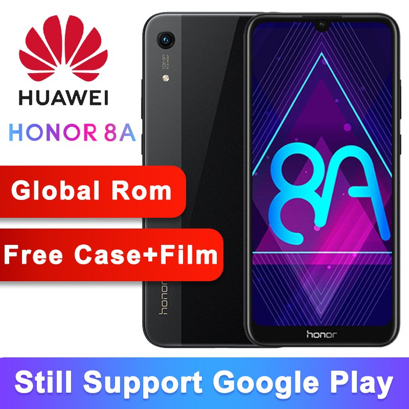 Original Huawei Honor 8A Smartphone Android 9 0 Octa core 6 09 inch Full Screen 1560x720