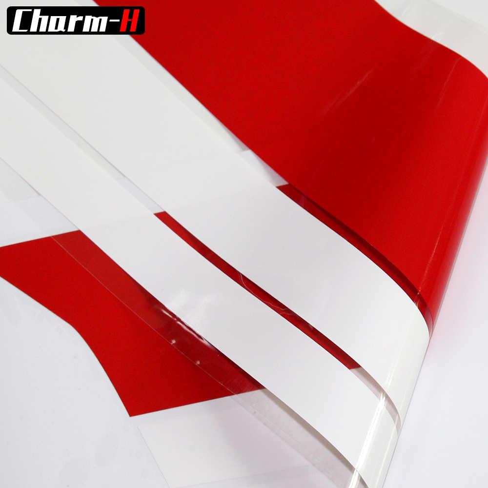 Estilo de coche capó Bonnet de cuerpo puerta lado falda parabrisas ventana para Mini Countryman f60 etiqueta engomada Accesorios