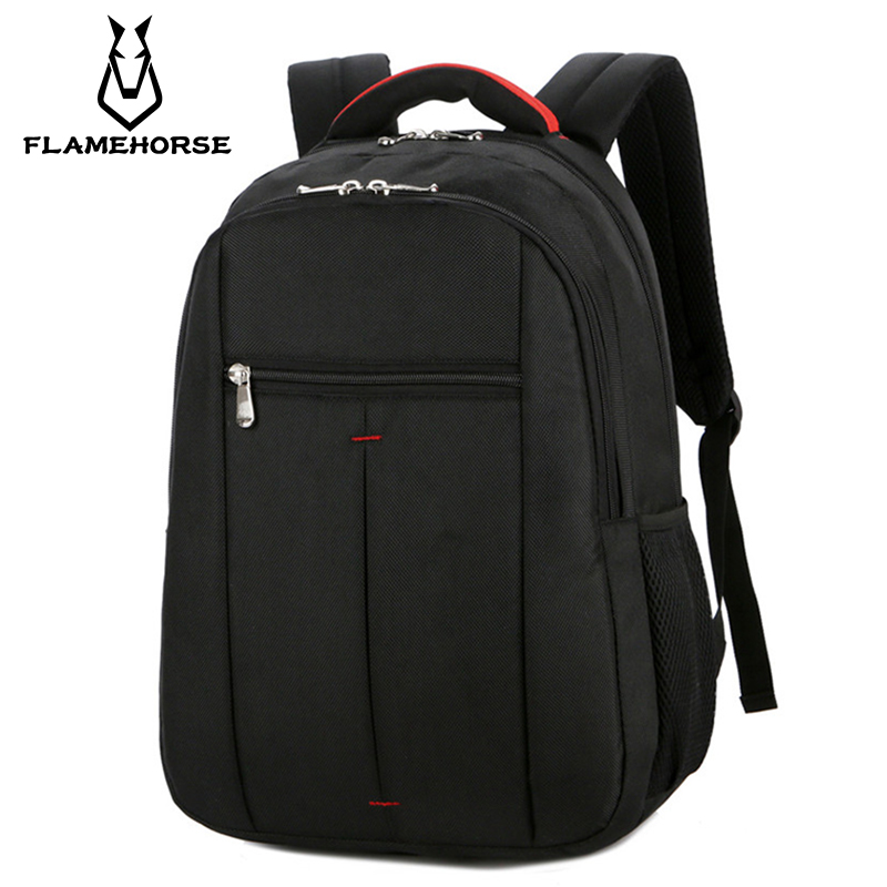 New Men's Business Oxford Cloth Laptop Travel Backpack High School Student College Student Waterproof Large Capacity Bag