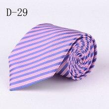 Фотография OL Mens New Fashion Neck ties 8CM Ties for Mens Business Stripe Jacquard Wedding Party Free Shipping PI031