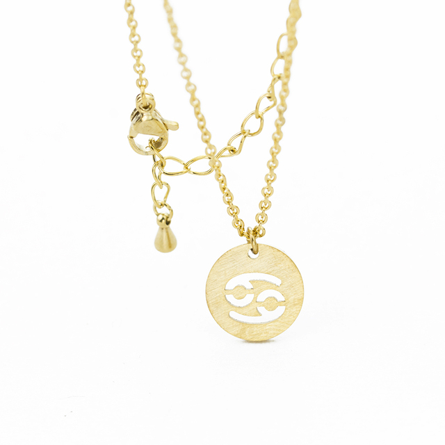 brixini.com - The Zodiac Coin Necklaces