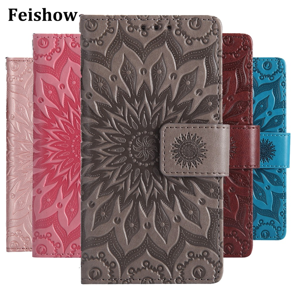 Cover Case Card-Holders Coque Xiaomi Note-4x Redmi Fundas Embossed Sfor