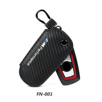 Genuine Leather Key Holder Case For Bmw E90 F30 F34 F10 E70 E71 X1 X3 X4