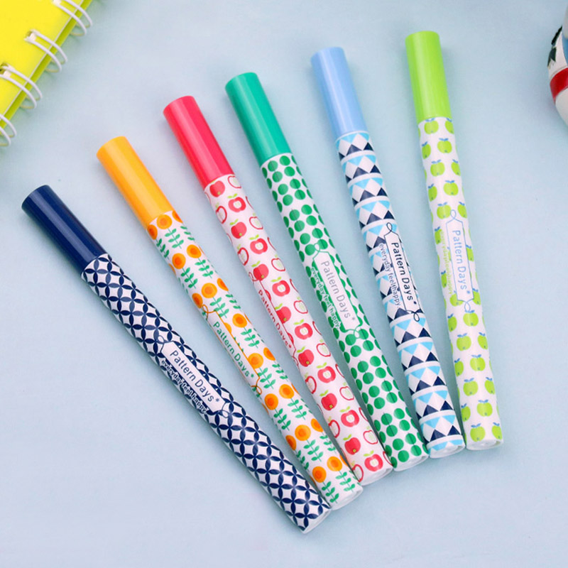 0 5mm Mini Cute Flower Fountain Pen Kawaii Calligraphy Ink Pen for Kids Students Writing Gift Office School Supplies Stationery in Fountain Pens from Office School Supplies