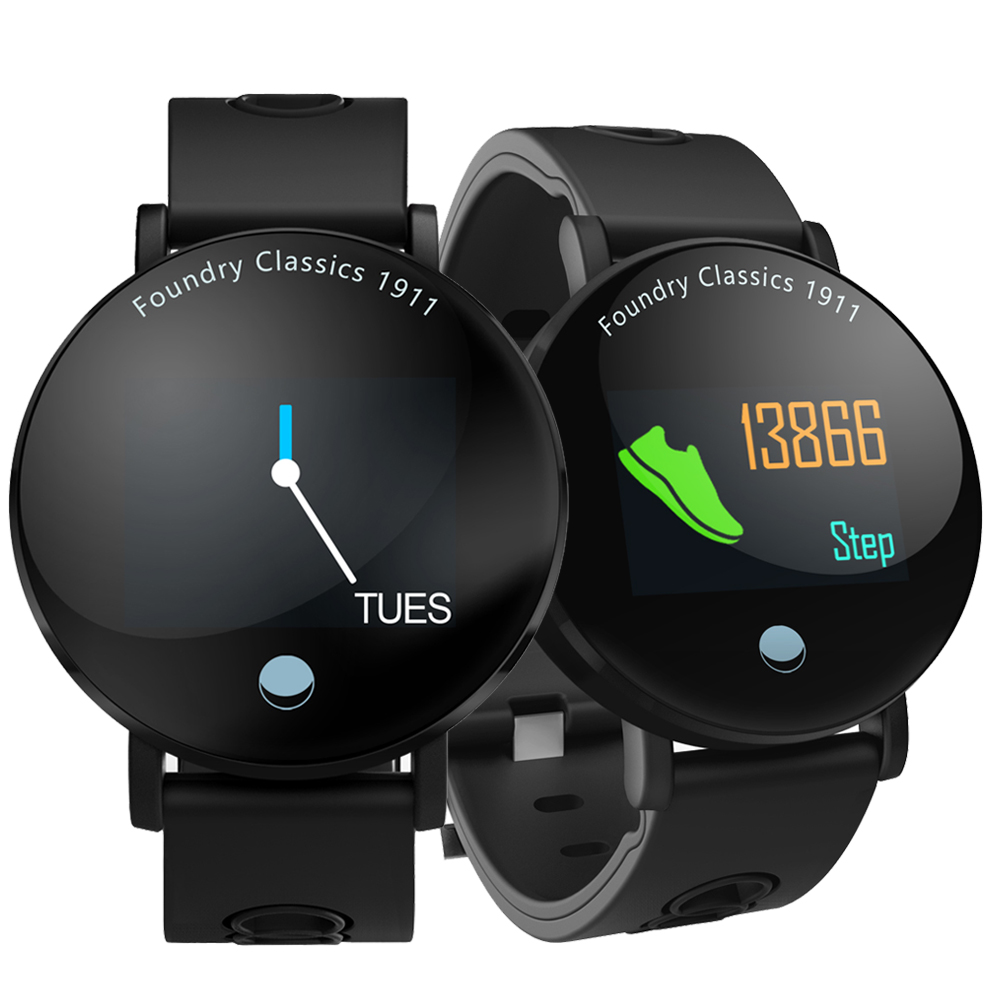 Fitness Smart Watch Men Women Heart Rate Monitor Blood Pressure Pedometer Male