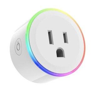 Image 5 - Smart Ladegerät für mini buchse Stecker WiFi Drahtlose Fernbedienung Buchse Adapter mit Timer auf und off Kompatibel mit Alexa Google hause