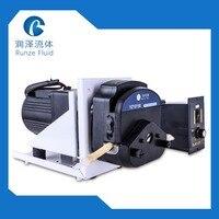 AC220v Variable Speed Peristaltic Pump Liquid Transfer Silicon Tubing Wall 1.6mm