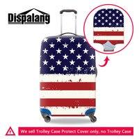 Bandera de Estados Unidos  cubierta de equipaje elástico protección antipolvo extensible para maleta con ruedas de 18-30 pulgadas  cubierta impermeable con cremallera
