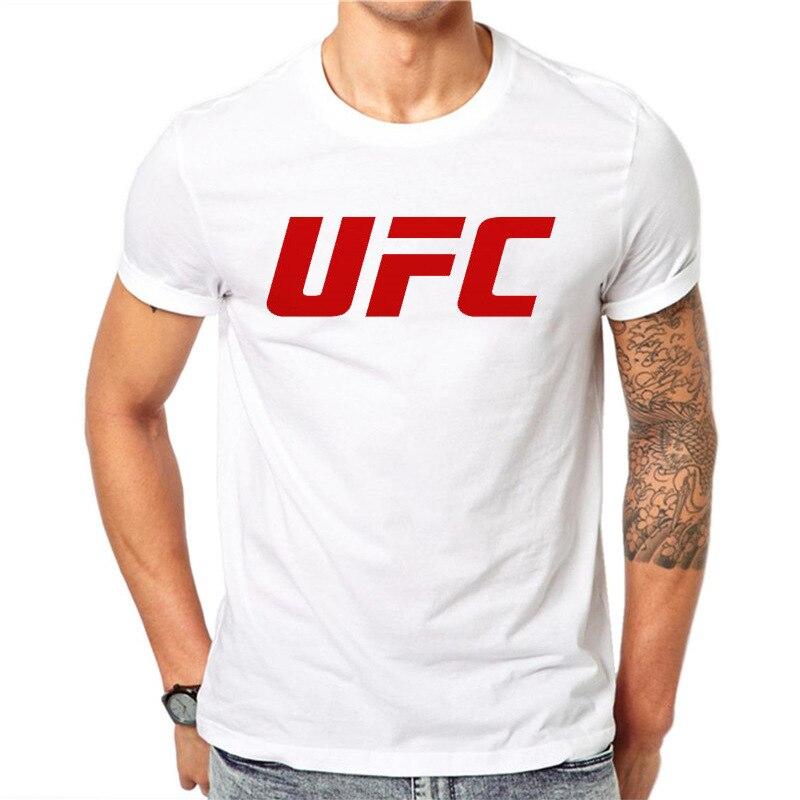 Khabib Nurmagomedov   T     shirts   men MMA Russian The Eagle Emblem   T     shirt   UFC Streetwear brand top tee white tshirt