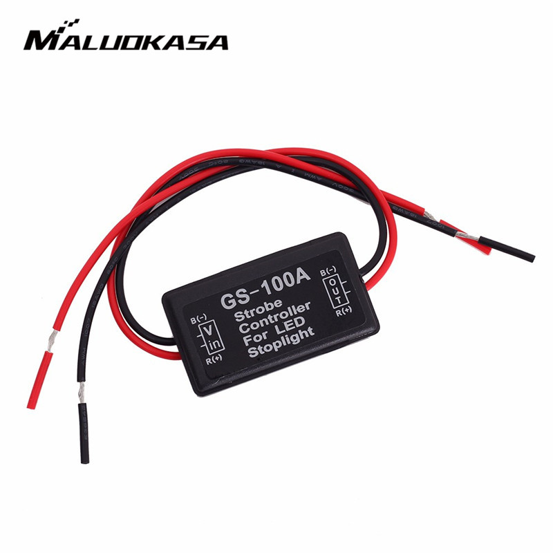 MALUOKASA Box Brake-Tail-Stop-Light Led-Lights Flash Flashing-Controller Strobe Auto