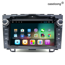 8 pulgadas 4 Android 6.0 Del Coche DVD Para Honda CRV CR-V 2006 2007 2008 2009 2010 2011 unidad principal estéreo gps de radio del coche grabadora