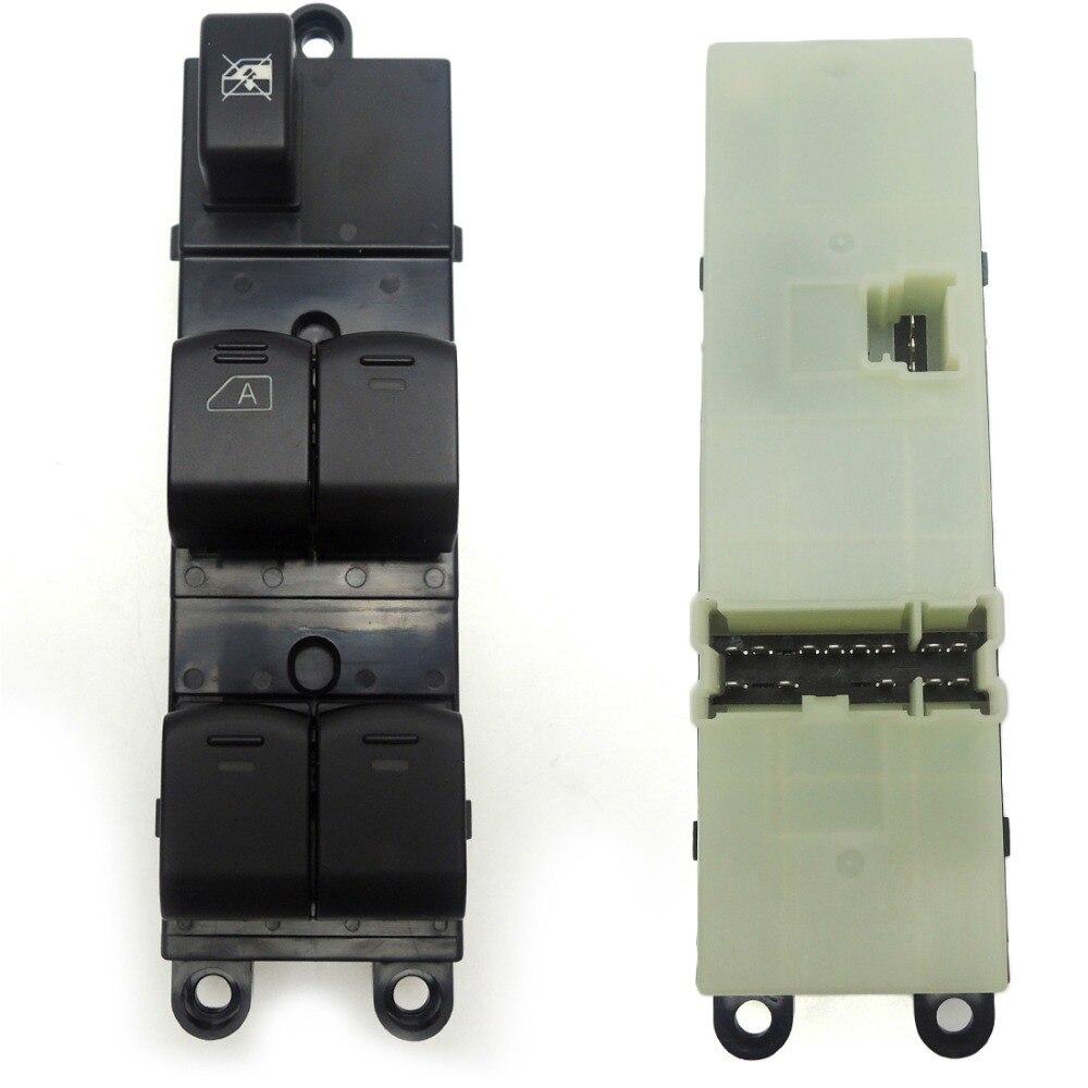 KEMiMOTO 25401-EB30B 25401EB30B Avant Gauche Maître Électrique lève-vitre commutateur pour Nissan Navara D40 04-16 25401-BB65B